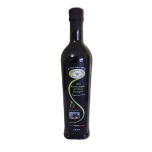 olio extravergine di oliva denocciolato
