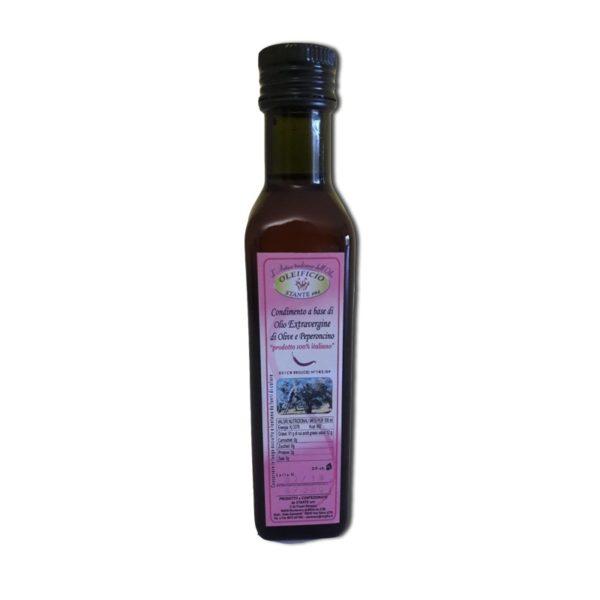 olio extra vergine di oliva e peperoncino