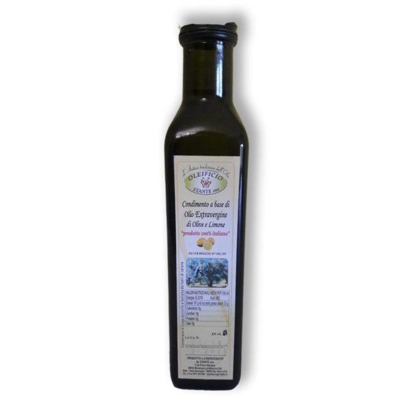 olio extra vergine olive e limone