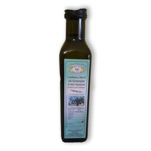 olio extra vergine olive e rosmarino